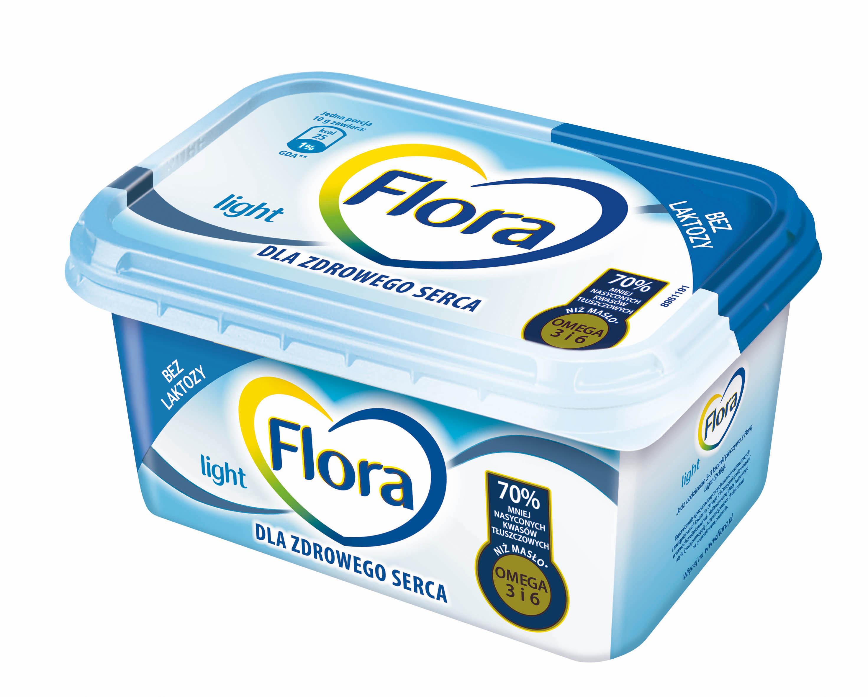 Flora Light Lekko I Bez Laktozy Dla Zdrowego Serca Zdrowie