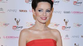Dorota Gardias w sukience z baskinką - Telekamery 2013