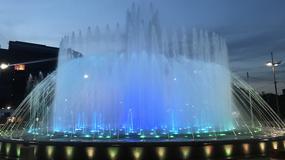 Magičan prizor na Trgu Slavije, nov vodoskok u DUGINIM BOJAMA