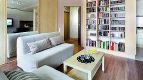 Sprytnie urządzone 31-metrowe mieszkanie dla pary. Katarzyna i Michał mają tu wszystko, czego potrzebowali.