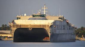 Katamarany transportowe typu Spearhead - superszybkie i zwrotne jednostki US Navy
