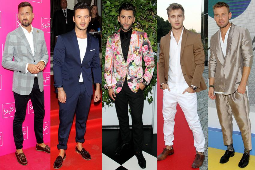 Moda Męska Na Czerwonym Dywanie