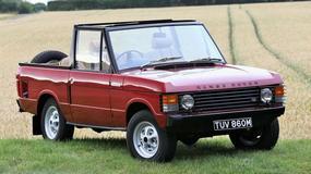 Gratka dla kolekcjonerów! Range Rover cabrio na sprzedaż!