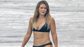 Hilary Duff w bikini - jest na co popatrzeć!