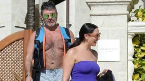 Simon Cowell z żoną i dziećmi na Barbadosie