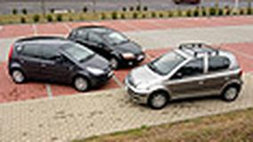 Chevrolet Aveo 1.4, Mitsubishi Colt 1.3, Toyota Yaris 1.3 - Optymalne moc i wymiar