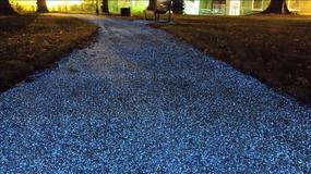 Droga przyszłości - asfalt oświetla się sam!