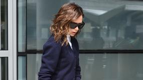 Victoria Beckham cała w czerni przechadza się po Nowym Jorku