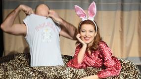 Ada Fijał nago w łóżku... ze znanym aktorem. Co na to jej mąż?