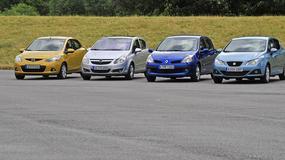 Mazda 2 kontra Corsa, Clio III i Ibiza IV: które auto zostanie królem miasta?