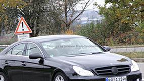 Zdjęcia szpiegowskie: Mercedes-Benz CLS po faceliftingu