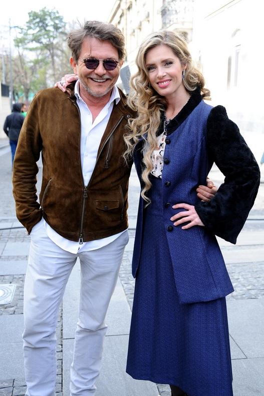 Leona i Dragan Bjelogrlić