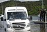 Pływający Mercedes-Benz Sprinter