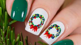 Pomysły na świąteczny manicure