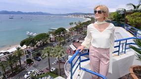 Piękna Grażyna Torbicka w Cannes. Dziennikarka rozmawiała z Susan Sarandon