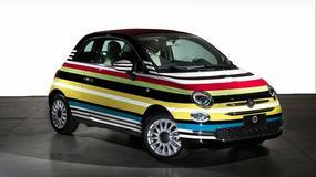 Wielobarwny Fiat 500C stworzony przy współpracy z domem mody Missioni