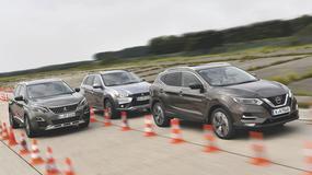 Mitsubishi ASX, Nissan Qashqai, Peugeot 3008 - nieduże silniki, wysokie ceny