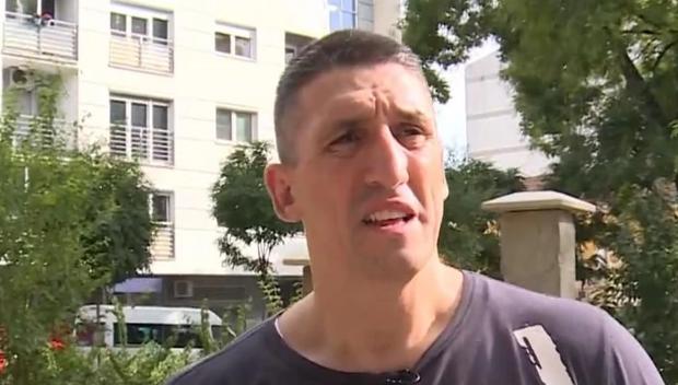 Kristijan Golubović posetio suprugu i ćerku