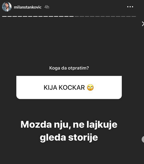 Milan Stanković o Kiji Kockar