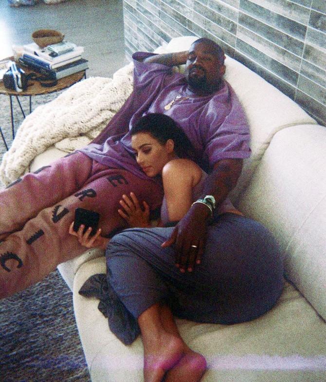 Kanje sa suprugom Kim