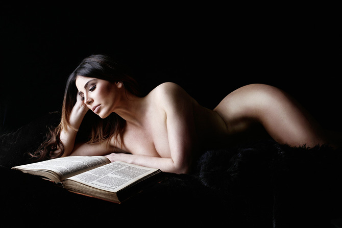 We should all read more erotic literature, you guys