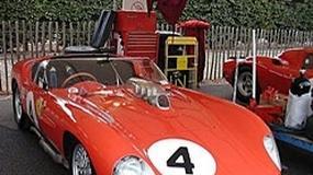 Ferrari: historyczne modele na wystawie Retromobile