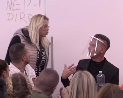MARIJA UDARILA NA PRODUKCIJU! Žestoko izvređala Milana Miloševića, sledi joj DISKVALIFIKACIJA? (VIDEO)