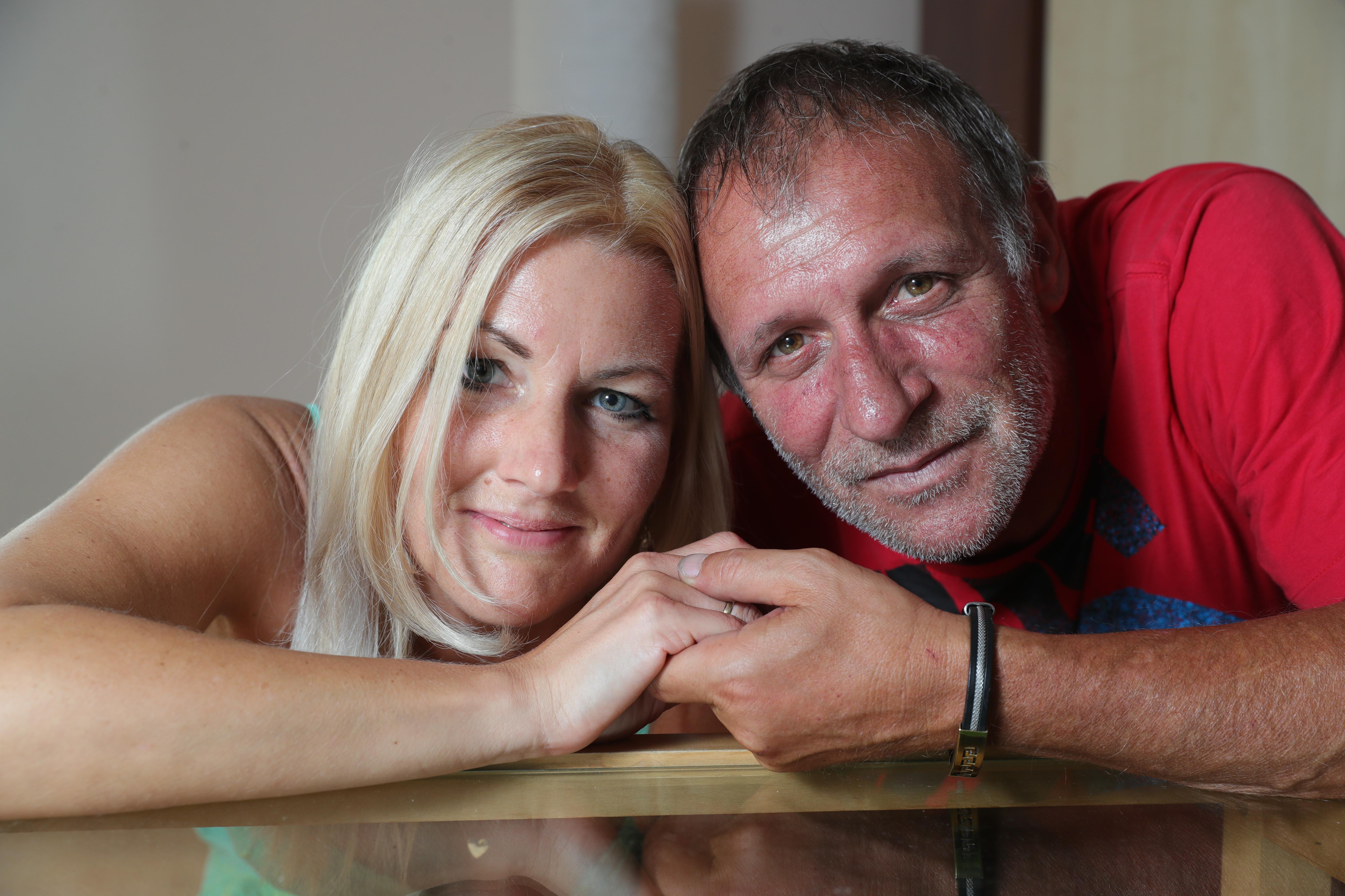 Az egykori labdarúgó megkérte szerelme kezét, és azt tervezi, hogy a Vasas-pályán mondja ki az igent / Fotó: Varga Imre