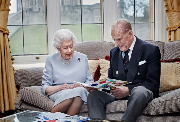Princ Filip i kraljica Elizabeta 2020 godine