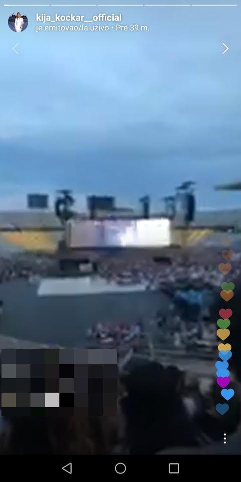 Kija na koncertu Bijsonse i Džej Zija