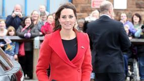 Płaszcze ciężarnej Kate Middleton