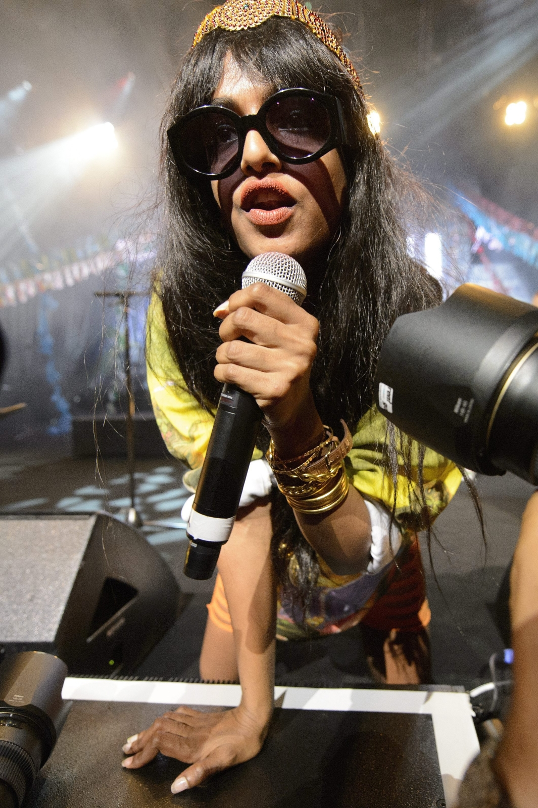 M.I.A. na 46th Montreux Jazz Festival