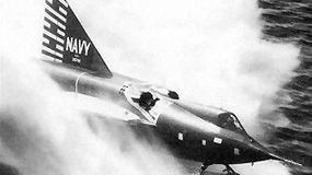 Convair F2Y Sea Dart - odrzutowy, naddźwiękowy, przechwytujący... wodolot