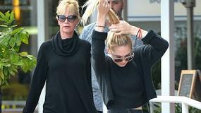 Melanie Griffith i jej 18-letnia córka Stella Banderas wyglądają jak siostry