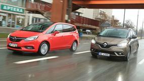 Renault Grand Scenic kontra Opel Zafira - który van jest lepszy dla rodziny?
