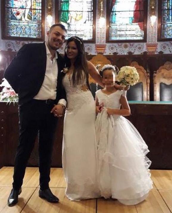 Slobodan Vasić na venčanju sa Sonjom