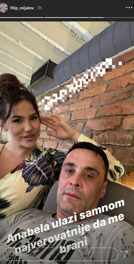 Filip Mijatov sa partnerkom