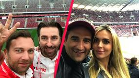 Polska-Kazachstan: gwiazdy kibicowały drużynie Roberta Lewandowskiego w meczu o udział w Mistrzostwach Świata 2018