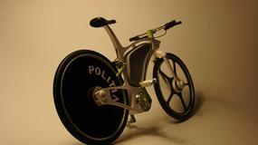 Unikalny policyjny rower