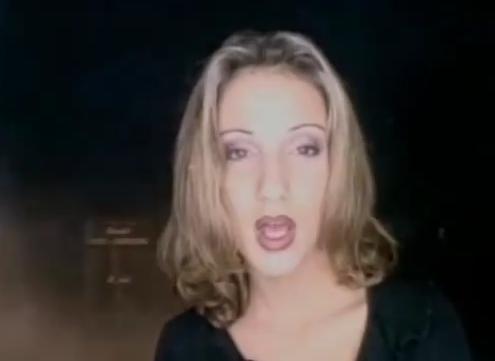 Ana u spotu za pesmu