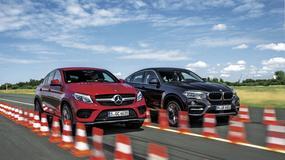 BMW X6 kontra Mercedes GLE Coupe - sprawdzamy, kto robi lepsze X6?