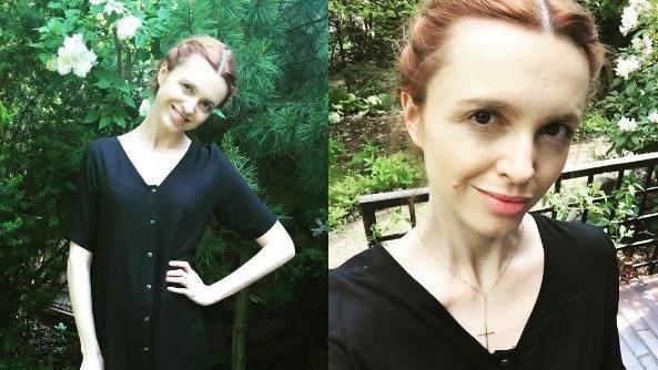 71a3dffec6bf Katarzyna Burzyńska dwa tygodnie po porodzie