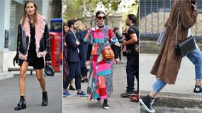 Street Style na Tygodniu Mody w Londynie