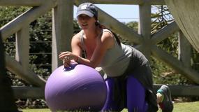 Jennifer Love Hewitt ostro ćwiczy w ciąży