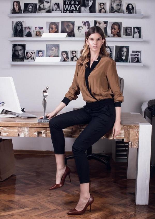 Modna zvezda Jelena Ivanović Tomašević: njeno ime je dobro poznato u svetskim modnim krugovima