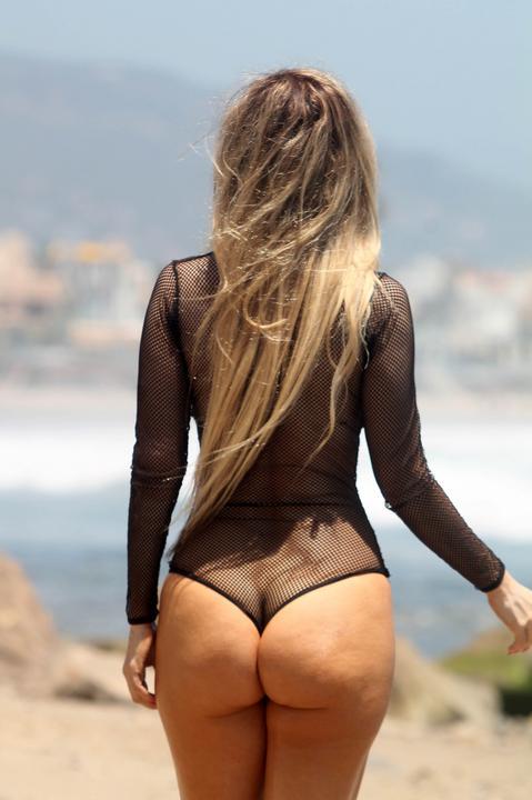 bikini see through