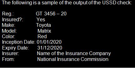 Ghana S Insurance Commission Roles Out Electronic Motor Insurance Manual Stickers Invalid Here S The Procedure To Confirm Its Authenticity Article Pulse Ghana