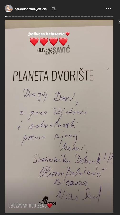 Olivera Balašević / Dara Bubamara