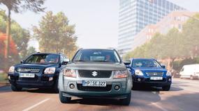 Honda CR-V kontra Kia Sportage i Suzuki Grand Vitara: nie każdy z nich lubi wypady w teren