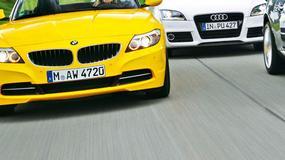 Mercedes SLK kontra BMW Z4 i Audi TT Roadster: sprawdziliśmy, czy ten Mercedes nadal budzi emocje?
